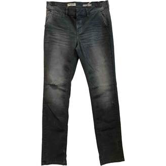 Berenice Grey Cotton Jeans for Women