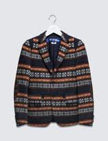 Junya Watanabe Jacquard Wool Blazer