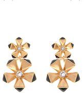 Karen Millen Geo Flower Drop Earring