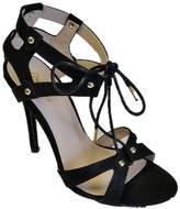 Qupid Ara high heel tie up sandal