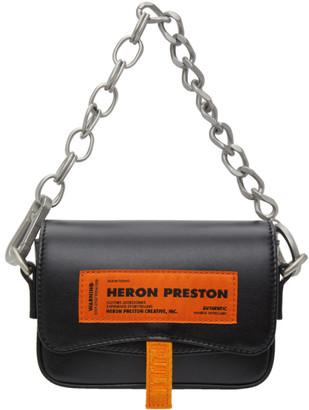 Heron Preston Black Mini Canal Bag