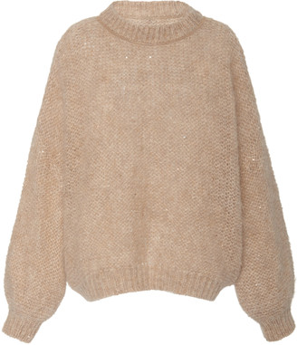 Brunello Cucinelli Oversized Mohair-Blend Sweater