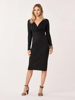 Diane von Furstenberg Regina Wool-Blend Midi Dress