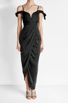 Zimmermann Draped Silk Dress