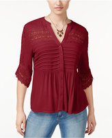 American Rag Lace Babydoll Top, Only at Macy's