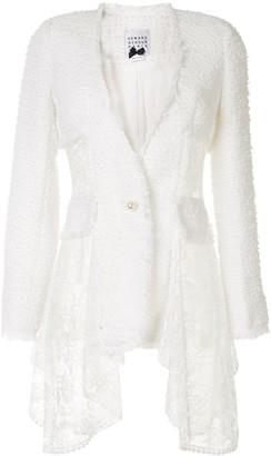 Edward Achour Paris Boucle Single Breasted Jacket