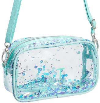 Pottery Barn Teen Clearly There Sequin Crossbody Bag