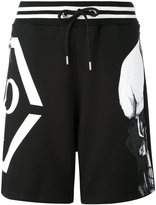 Philipp Plein Okami track shorts - men - Cotton - L