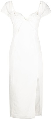 Jacquemus Fitted Midi Dress