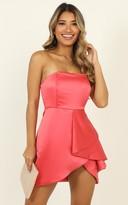Showpo Isnt She Lovely Dress in coral - 6 (XS) NEW SEASON ON SALE