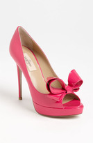 Valentino Couture Bow Platform Pump