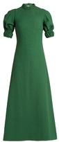 Emilia Wickstead Mimi cut-out back cloqué dress