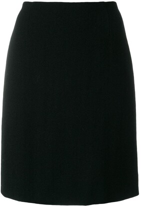 Moschino Pre Owned Straight-Cut Skirt