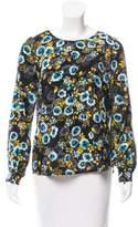 Yumi Kim Silk Printed Blouse