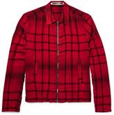 Mcq Alexander Mcqueen - Checked Woven Blouson Jacket