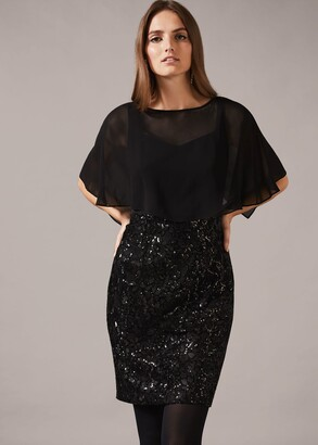 Phase Eight Marcy Sequin Skirt Dress