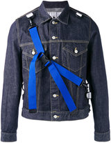 Comme des Garcons strap denim jacket - men - Cotton - M