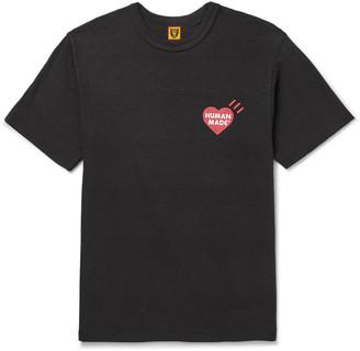 Human Made Slim-Fit Logo-Print Cotton-Jersey T-Shirt