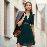 SandroSandro Short guipure lace dress