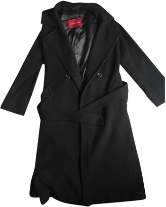Gerard Darel Brown Cashmere Coat for Women