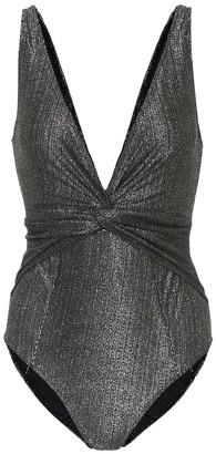 Jonathan Simkhai Metallic swimsuit
