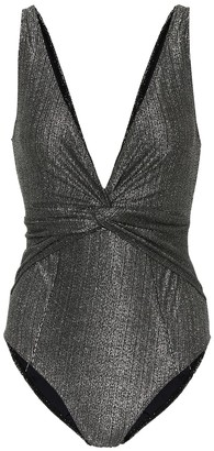 Jonathan Simkhai Metallic swimsuit