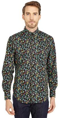 Naked & Famous Denim Easy Shirt in Pastel Flowers (Multi) Men's Clothing