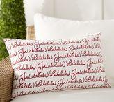 Pottery Barn Fa La La Indoor/Outdoor Lumbar Pillow