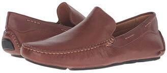 Massimo Matteo Venetian Driver (Whiskey) Men's Slip on Shoes