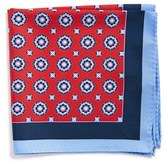 Nordstrom Men's Medallion Silk Pocket Square