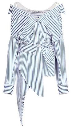 Alexander Wang Asymmetric Deconstructed Shirtdress