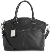 Tignanello Polished Pockets Leather Convertible Satchel Web ID: 462384