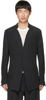 Julius Grey Inverted Lapel Blazer