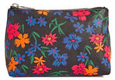 Paul Smith Bamboo Flower Leather Cosmetic Pouch