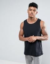 Nike Tech Bonded Singlet In Black 833931-010