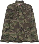 Adaptation Embroidered Camouflage cotton jacket