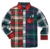 Ralph Lauren Toddler's, Little Boy's & Boy's Patchwork Plaid Shirt