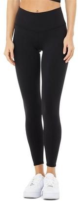 Alo Yoga 7/8 High-Waist Airbrush Legging Black Small
