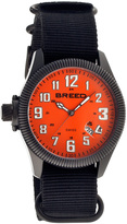 Breed Black & Orange Angelo Swiss Watch
