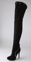 Report Signature Shoes Kane Thigh High Boots