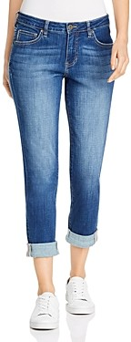 Jag Jeans Carter Cuffed Girlfriend Jeans in Thorne Blue