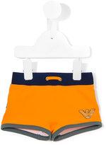 Armani Junior swim shorts - kids - Polyamide/Spandex/Elastane - 12 mth