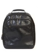 Boconi Men's 'Becker' Leather Backpack - Black