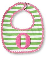 Mud Pie Baby-Girls Newborn O Girl Initial Bib, Pink, One Size by