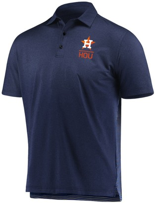 Men's Under Armour Navy/Gray Houston Astros Novelty Performance Polo