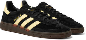 adidas Handball Spezial Leather-Trimmed Suede Sneakers