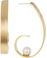 Yochi Shine That Imitation Pearl Earrings