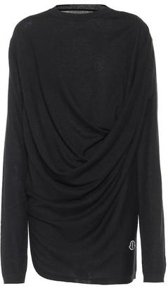 Rick Owens x Moncler cashmere sweater