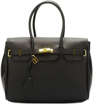 Italian Leather Leather Satchel
