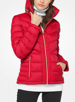 Michael Kors Quilted-Nylon Down Jacket
